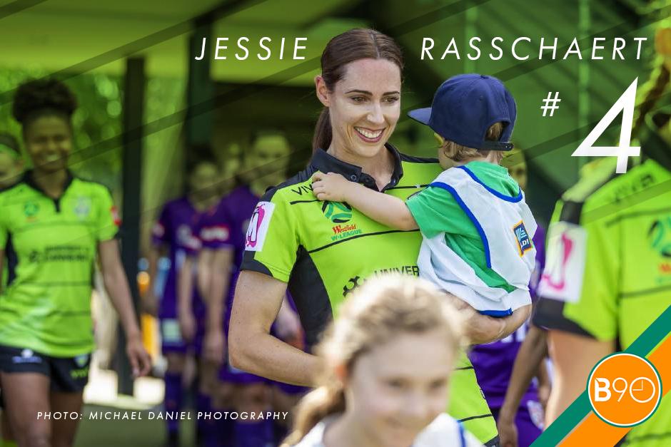 Jessie Rasschaert baby