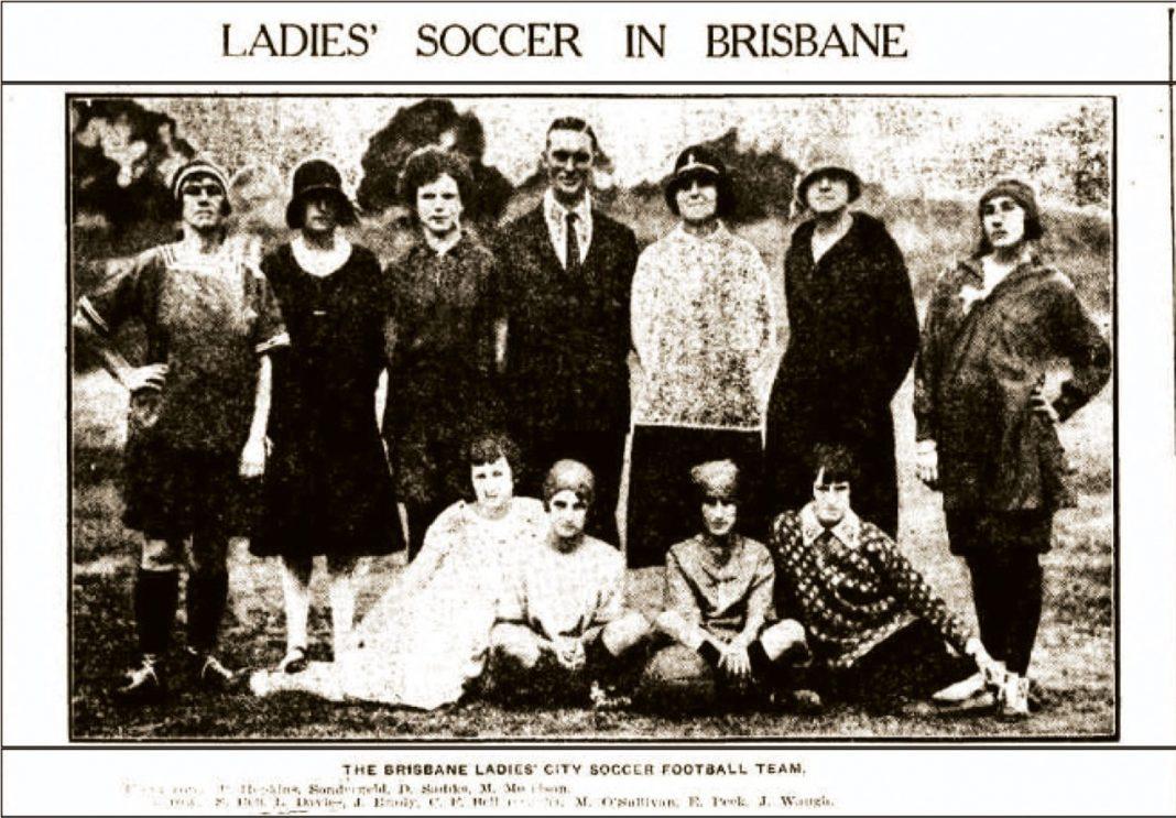 Australian Women's Football - the early days