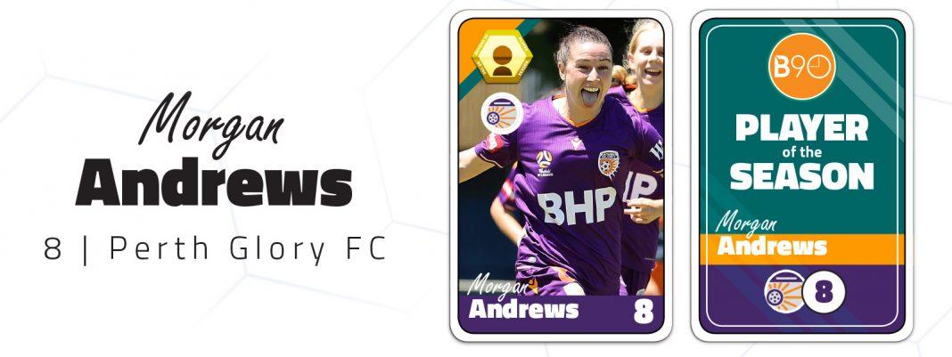 Morgan Andrews Player of the Season